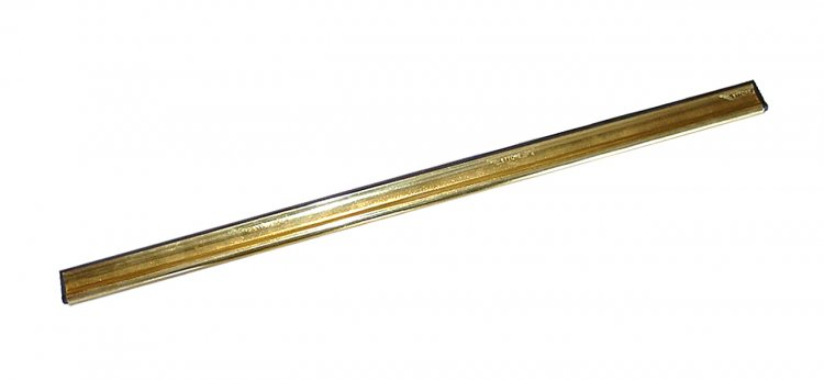 "6"" ETTORE BRASS CHANNEL - Click Image to Close"