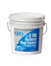 ABR X-180 WEATHERED WOOD RESTORER (gallon)