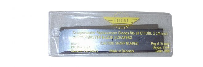 SCRAPEMASTER REPLACEMENT BLADES (10)