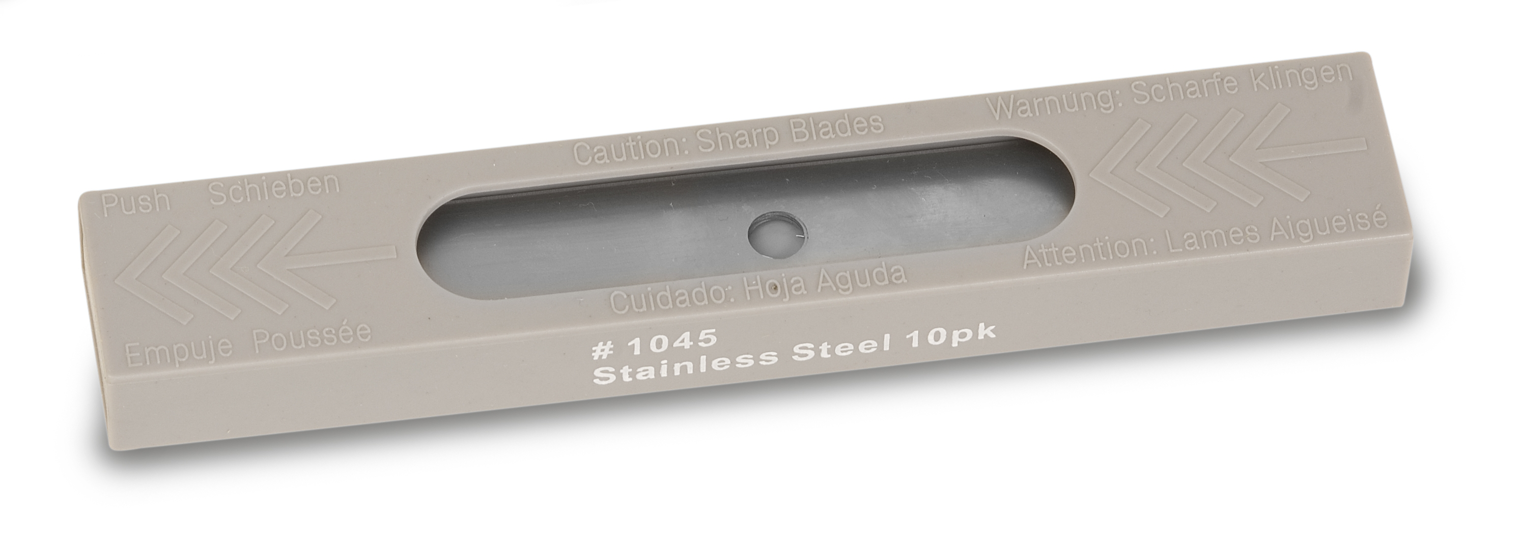 PRO+ CONTOUR STAINLESS REPLACEMENT BLADES (10)