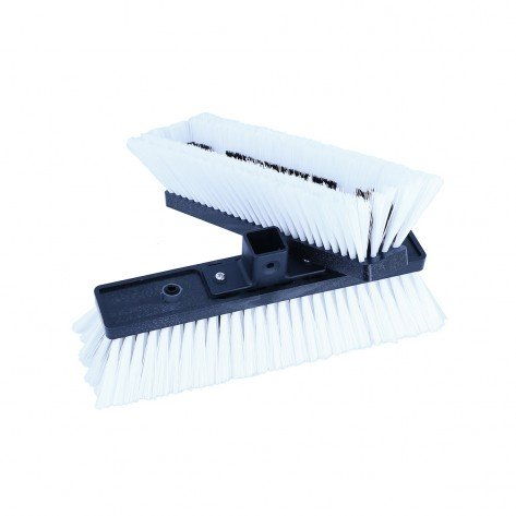 "REPLACEMENT MEDIUM MIXED BRISTLE 10"" BRUSH WITH QUICK-LOQ SOCKET"
