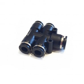T PUSH-FIT 4 WAY CONNECTOR