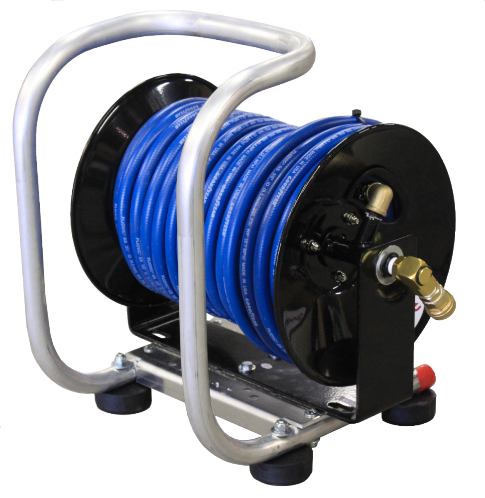 MANUAL REEL WITH 100' HOSE