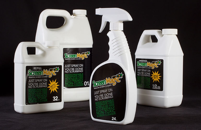 SCREEN MAGIC 32 ozs sprayer