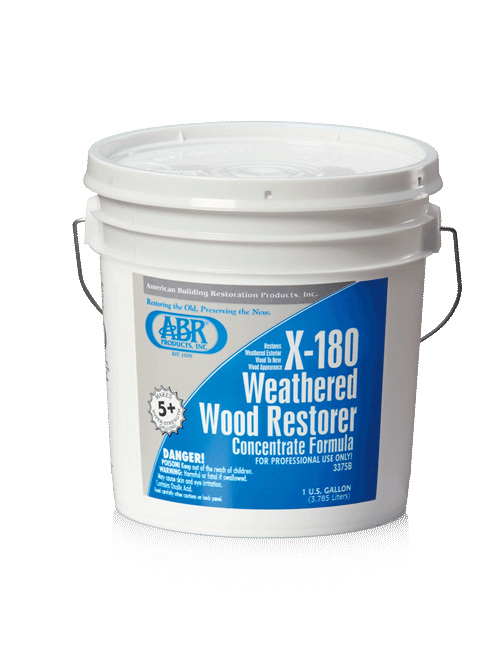 ABR X-180 WEATHERED WOOD RESTORER concentrate (gallon)