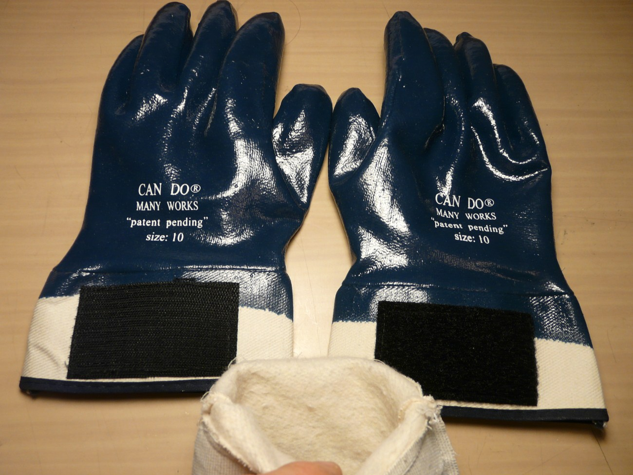 CAN DO MANY WORKS EAVESTROUGH GLOVES (L)