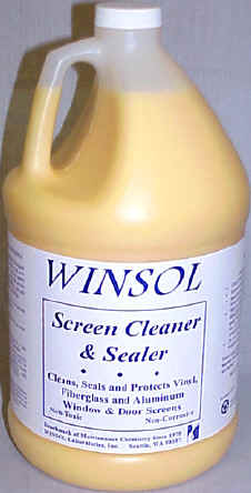 SCREEN & FRAME CLEANER