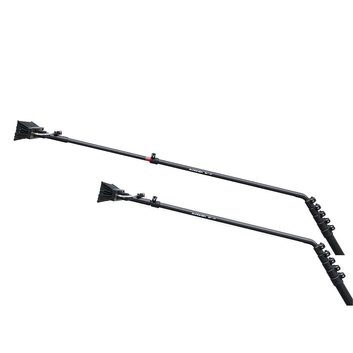 "QUICK-LOQ TELESCOPIC DEEP REACH CARBON FIBRE GOOSENECK 35"" - 47"""